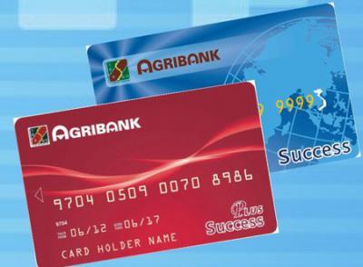 Thẻ tín dụng quốc tế Agribank Visa, MasterCard
