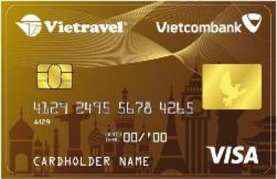 Thẻ tín dụng quốc tế Vietcombank Viettravel VISA