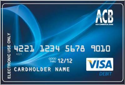 Khuyến mãi cho chủ thẻ ghi nợ ACB, tặng 7% trên số tiền giao dịch