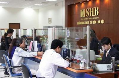 Vay thấu chi tài khoản SHB không tài sản đảm bảo