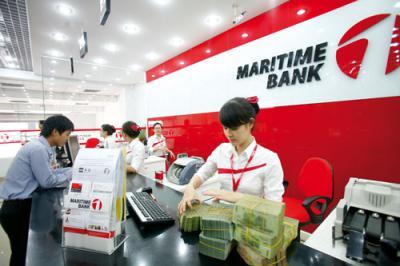 Vay tín chấp theo lương Maritime Bank