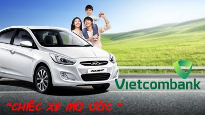 Vietcombank ưu đãi khách hàng mua ô tô Trường Hải