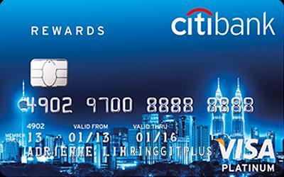 Thẻ tín dụng linh hoạt CitiBank