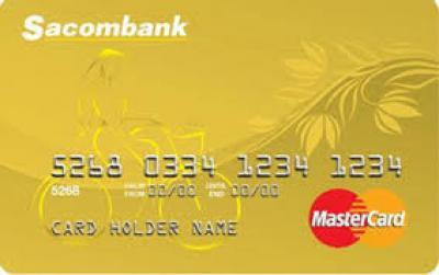 thẻ tín dụng matercard sacombank