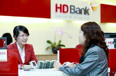 Vay Ứng trước tài khoản cá nhân ngân hàng HDBank