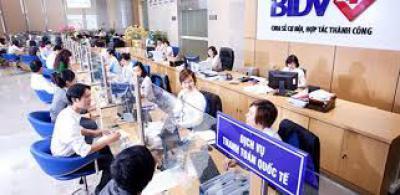 Vay vốn tín chấp bằng lương Ngân hàng BIDV