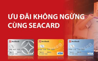 Ưu đãi dành cho chủ thẻ SeABank Visa và SeABank MasterCard