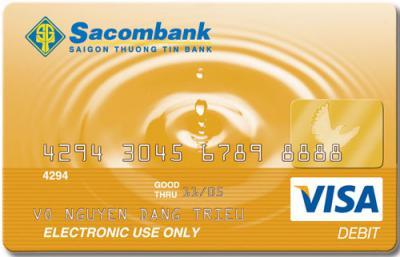 Sacombank tặng mũ bảo hiểm cho chủ thẻ Sacombank JCB