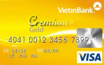 Thẻ tín dụng vietinbank visa