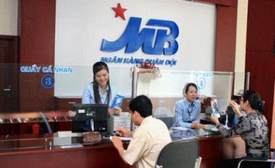 Vay thấu chi MB Bank