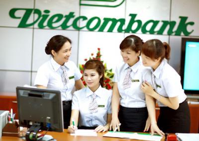 Vay thấu chi tài khoản cá nhân ngân hàng Vietcombank