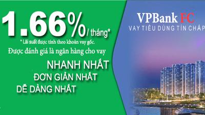 Vay tiêu dùng tín chấp theo lương FC VPBank