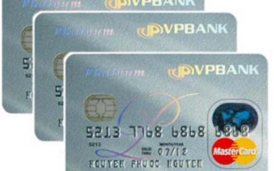 Thẻ tín dụng quốc tế vpbank mastercard platinum