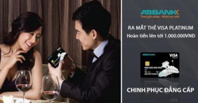 ABBANK ra mắt thẻ tín dụng quốc tế ABBANK VISA Platinum